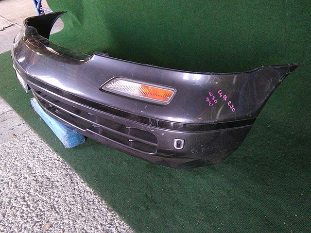 Бампер передний серый в сборе с повторителями поворотников  F20225C0MM_BU
