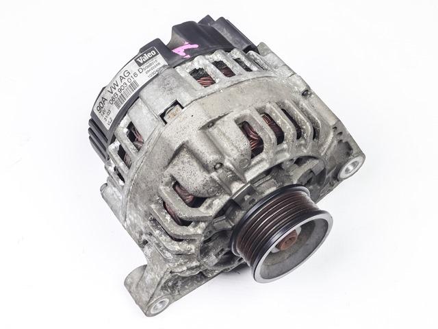Генератор 90A 12V 2WD АКПП  06B903018DX_BU