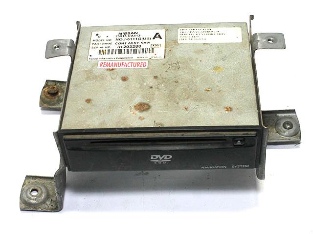 Блок управления навигацией и dvd-changer  25915CA123_BU