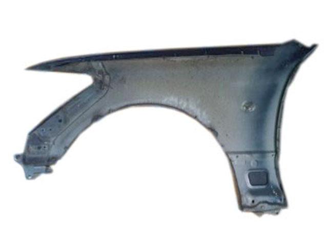 Крыло переднее правое темно-синее в сборе с молдингом, повторителем (царапины) (Б/У) для TOYOTA CELSIOR / LEXUS LS F30 2003-2006