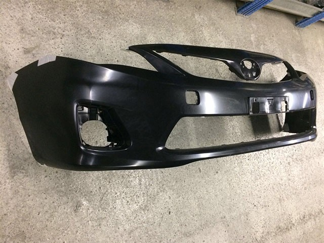Бампер передний черный (новый) (Б/У) для TOYOTA COROLLA E140 / E150 2010-2013