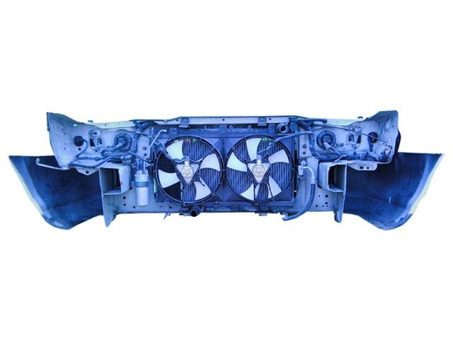 Ноускат белый бампер, радиаторы, суппорт, фары, поворотники, усилитель, диффузор (Б/У) для NISSAN SUNNY B14 1994-1999