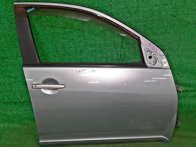 Дверь передняя правая серебро в сборе без блока кнопок управления стеклоподъемниками (Б/У) для MITSUBISHI OUTLANDER / AIRTREK OUTLANDER XL CW 2007-2010