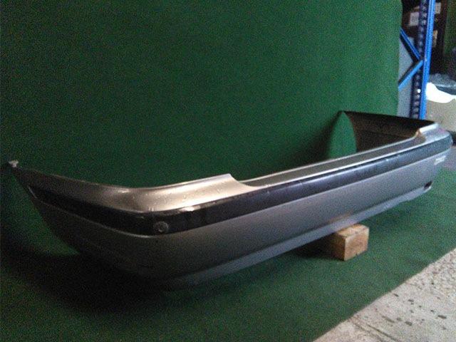 Бампер задний серый с парктроником (вмятина) (Б/У) для NISSAN PRIMERA II P11 1995-2000