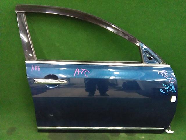 Дверь передняя правая синяя в сборе (Б/У) для NISSAN TEANA J32 2008-2011