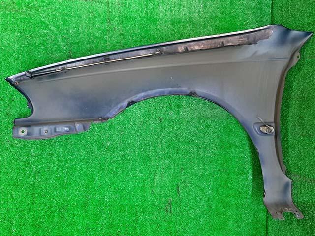 Крыло переднее правое синее в сборе с повторителем (дефект лкп) (Б/У) для TOYOTA CALDINA T210 1997-2002
