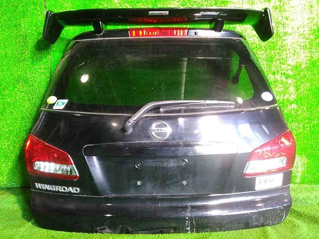 Крышка багажника черная в сборе (Б/У) для NISSAN WINGROAD III Y12 2005-2018