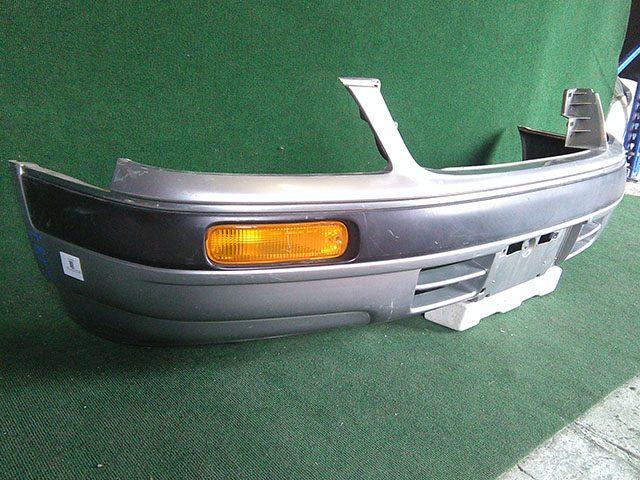 Бампер передний в сборе с поворотниками (Б/У) для NISSAN STAGEA I WC34 1996-2001