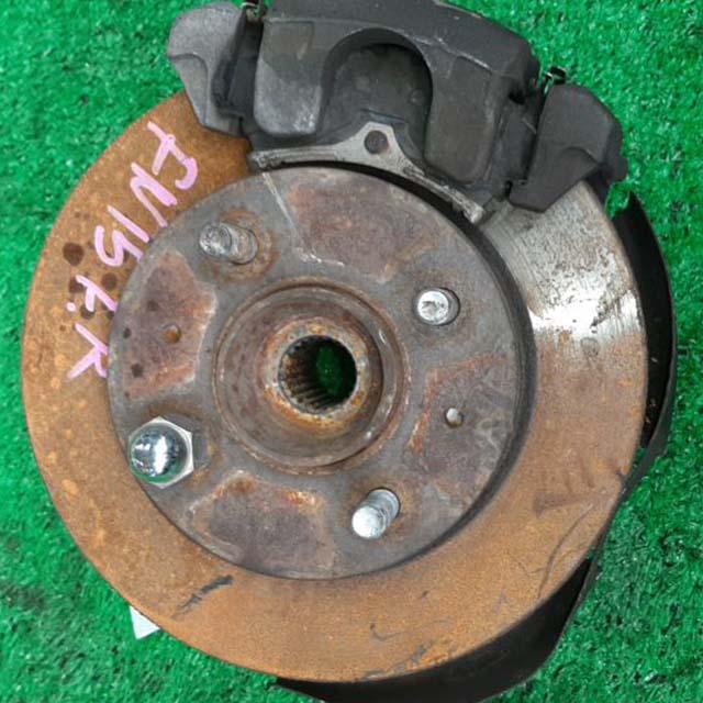 Кулак поворотный правый в сборе со ступицей, диск, суппорт 2WD  400140M005_BU