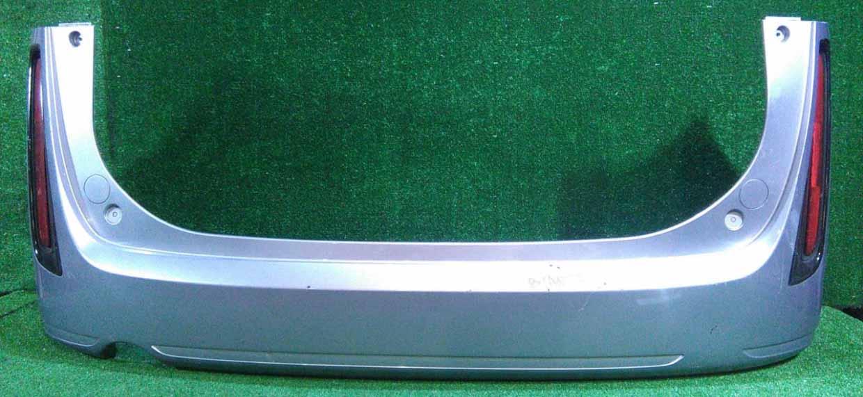 Бампер задний голубой в сборе с катафотами (потерт) (Б/У) для MAZDA BIANTE
