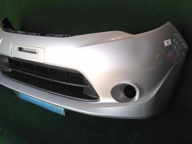 Бампер передний серый с отв. под ПТФ (Б/У) для TOYOTA ESTIMA R50 2008-2012
