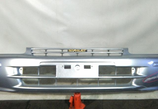 Бампер передний серый (Б/У) для TOYOTA STARLET P90 1995-1999