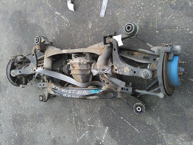 Балка (подрамник) задняя в сборе со ступицами, дисками, рычагами, приводами и редуктором, 2WD  5120622200_BU