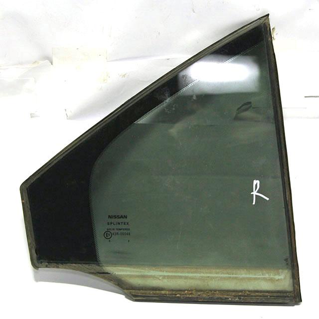 Стекло двери заднее правое форточка (Б/У) для NISSAN PRIMERA III P12 2002-2008