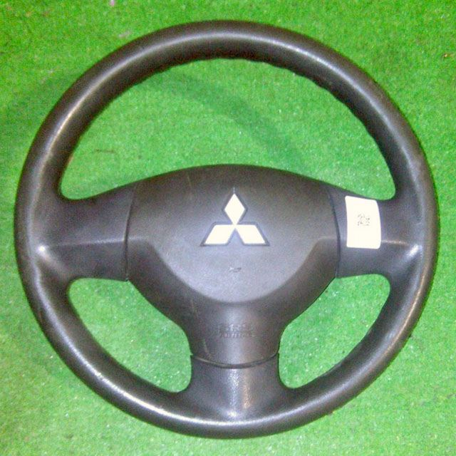Подушка безопасности в руль (SRS) с рулевым колесом, без пиропатрона (дефект потертости) (Б/У) для MITSUBISHI LANCER X