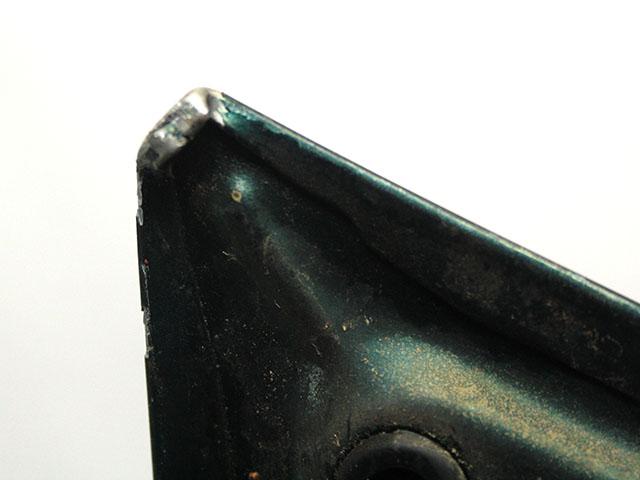 Крышка багажника зеленая с дефектом Америка замят угол (Б/У) для MITSUBISHI GALANT