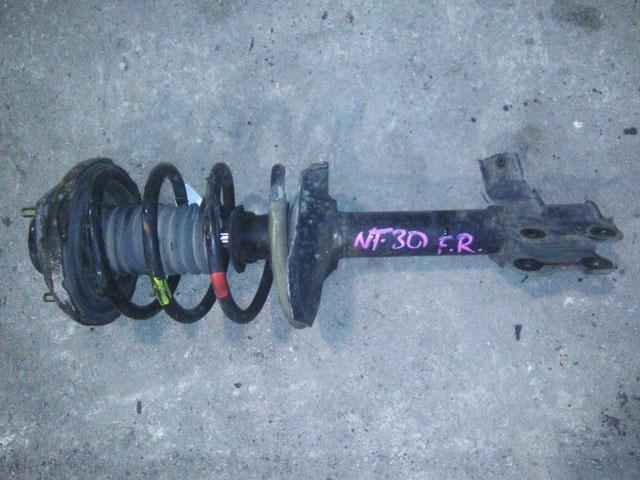 Амортизатор подвески передний правый в сборе 4WD (Б/У) для NISSAN X-TRAIL T30 2000-2007