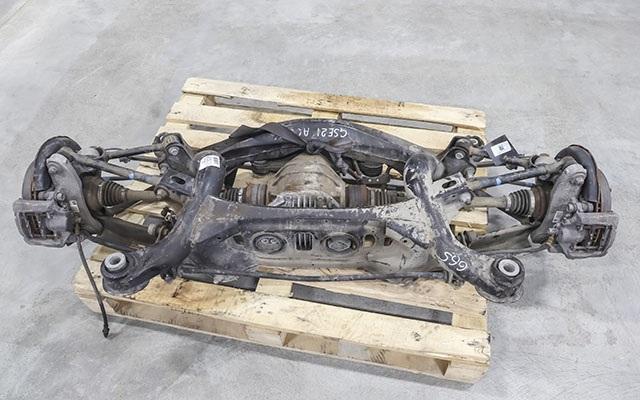 Балка (подрамник) задняя в сборе с дисками, рычагами, опорами, приводами, редуктором и суппортами тормозными, 2WD  5120630100_2BU