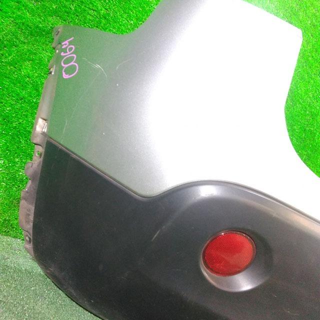 Бампер задний серый с катафотами и заглушкой (Б/У) для NISSAN QASHQAI / DUALIS J10 2006-2013