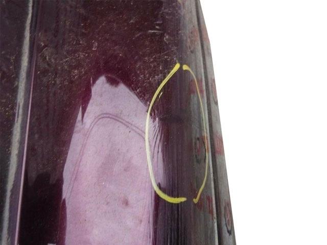 Бампер задний бордовый  5215930300C0_1BU