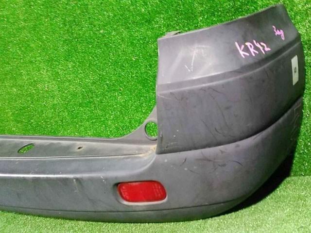Бампер задний серый с катафотами (царапины, лом крепления) (Б/У) для TOYOTA NOAH / VOXY NOAH LITE / TOWNACE R40 / R50 1996-2008