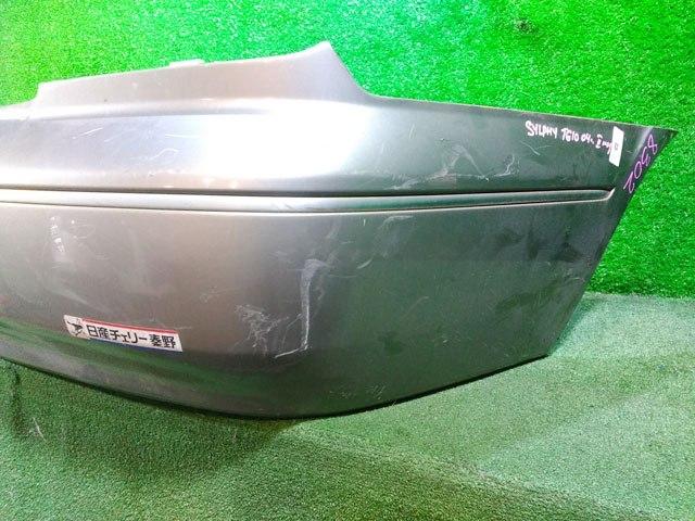 Бампер задний серый (Б/У) для NISSAN BLUEBIRD SYLPHY I G10 2000-2003