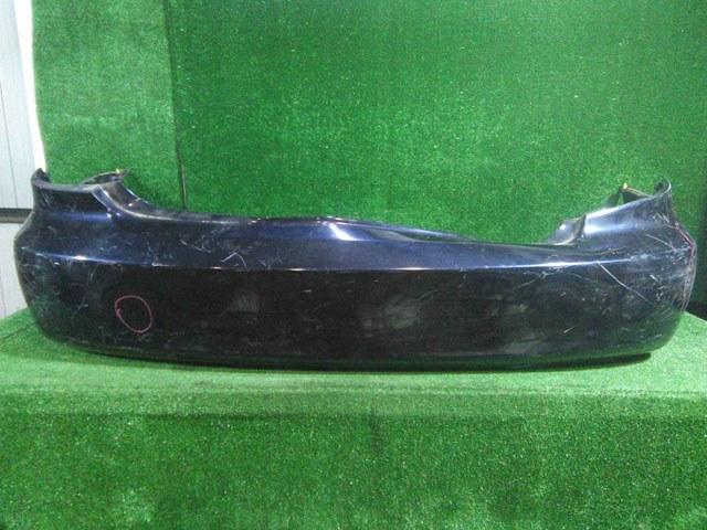 Бампер задний синий (лом креплений, вмятина) (Б/У) для TOYOTA WINDOM V30 2001-2006