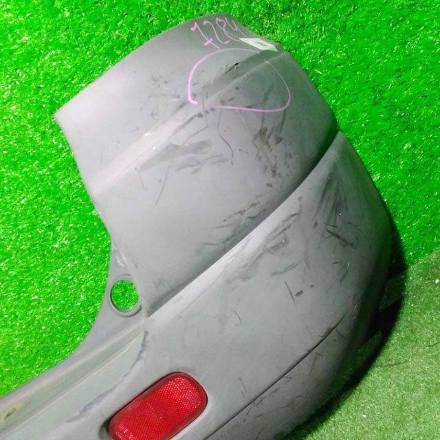 Бампер задний черный с катафотами (пластик потерт, лом крепление) (Б/У) для TOYOTA NOAH / VOXY NOAH LITE / TOWNACE R40 / R50 1996-2008