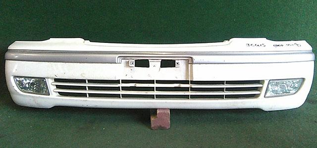 Бампер передний белый в сборе с молдингом и ПТФ  5211951010A0_1BU