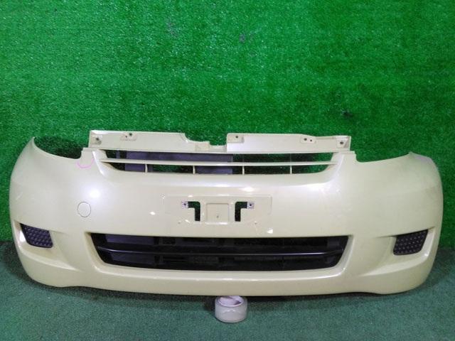 Бампер передний желто-серый (лом крепления) (Б/У) для TOYOTA PASSO C10 2006-2010