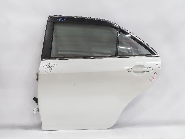 Дверь задняя левая белая в сборе (Б/У) для TOYOTA CAMRY XV40 2006-2011