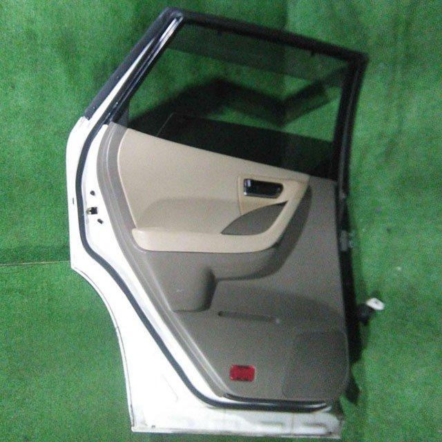 Дверь задняя левая белая в сборе (Б/У) для NISSAN MURANO Z50 2003-2008