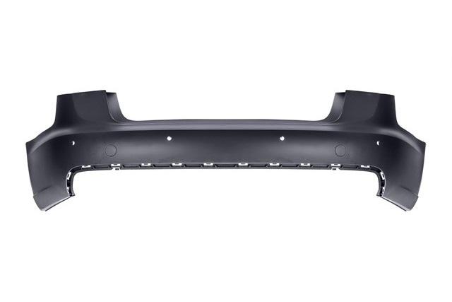 Бампер задний с отв. под парктроник Уценка 20% (трещина) (уценка) для AUDI A6 C7 2011-2018