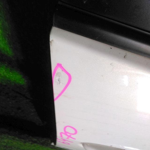 Дверь передняя правая белая в сборе  BBY45802XF_1BU