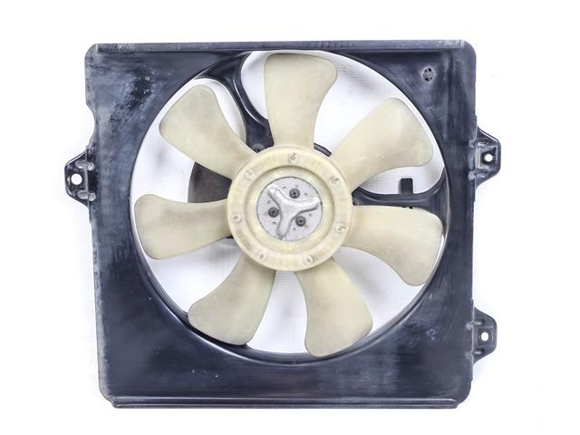 Диффузор вентилятора радиатора кондиционера в сборе с мотором, крыльчаткой МКПП (Б/У) для TOYOTA CARINA T210 1996-2001