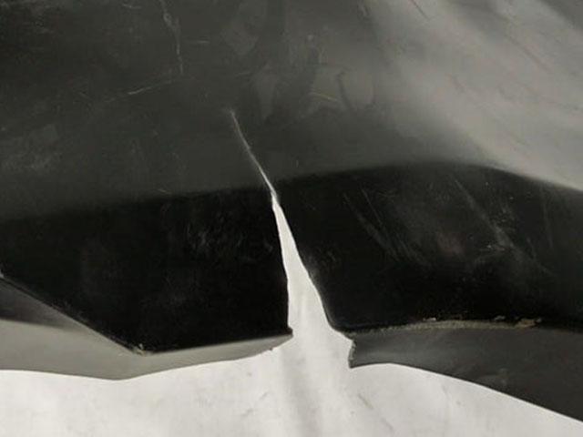 Бампер задний Уценка 50% (трещины, потертости, царапины) (уценка) для TOYOTA CAMRY XV50 2012-2015