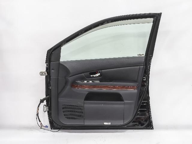 Дверь передняя правая черная в сборе (Б/У) для LEXUS RX II 300/330/350/400H XU30 2006-2009