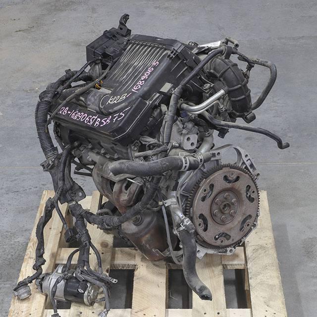 Двигатель (мотор) 2.5 K12B со стартером, генератором, ГУР-ом, косой и компрессором, 2012 г. 89000 км. 2WD АКПП в сборе (Б/У) для MITSUBISHI DELICA D:2 VI MB1 2011-н.в.
