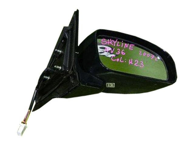 Зеркало заднего вида (боковое) правое электро, 7 контактов (дефект) (Б/У) для NISSAN SKYLINE V36 2006-2009