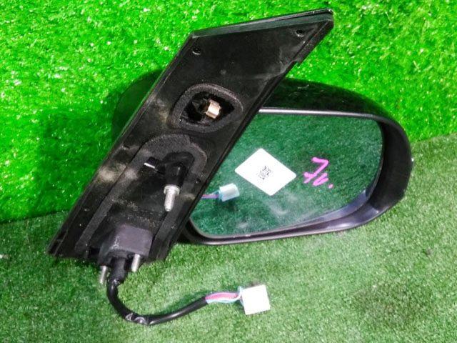 Зеркало заднего вида (боковое) правое электро, 7 контактов, с повторителем поворота и хром-накладкой (Б/У) для TOYOTA ESTIMA R50 2006-2019