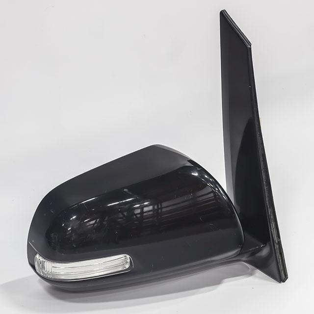 Зеркало заднего вида (боковое) правое электро, 7 контактов, с повторителем поворота (Б/У) для TOYOTA ESTIMA R50 2006-2019