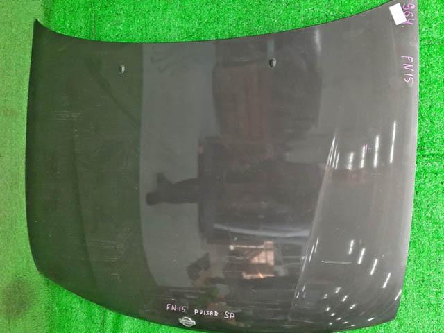 Капот коричневый (скол) (Б/У) для NISSAN PULSAR V N15 1995-2000