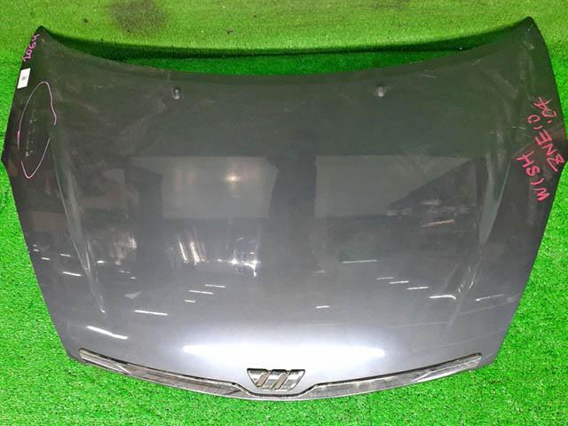 Капот серый в сборе с шумоизоляцией (потерт) (Б/У) для TOYOTA WISH XE10 2003-2009