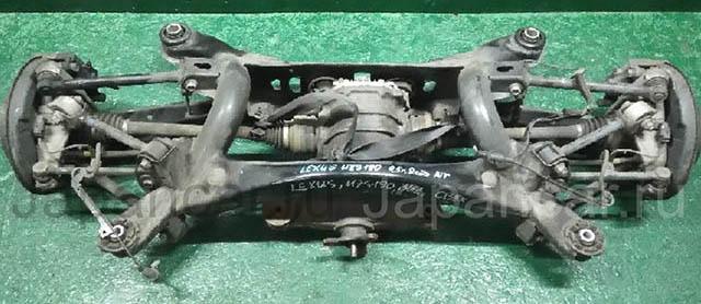 Балка (подрамник) задняя в сборе с редуктором 3.615, привода, рычаги, суппорта, троса, датчики 2WD АКПП  5120630101_2BU