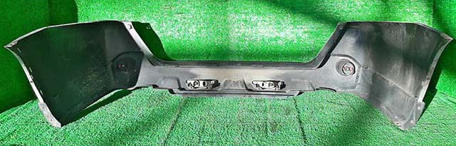 Бампер задний серебро в сборе с фонарями, катафотами (потерт) (Б/У) для NISSAN X-TRAIL