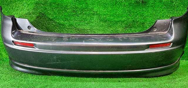 Бампер задний серый в сборе со спойлером, катафоты (Б/У) для SUZUKI SX4 CLASSIC EY / GY 2006-2014