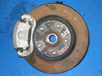 Кулак поворотный левый в сборе ступица, суппорт, диск тормозной, датчик ABS 4WD 190л.с. NISSAN SENTRA VII B17 2012,2013,2014,2015,2016,2017,2018,2019