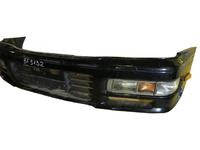 Бампер передний черный в сборе с ПТФ и повторителями поворота NISSAN CEDRIC IX Y33 1995,1996,1997,1998,1999