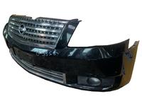 Бампер передний черный в сборе с решеткой радиатора и ПТФ INFINITI M