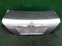 Крышка багажника серебро NISSAN SUNNY N16 2000,2001,2002,2003,2004,2005,2006